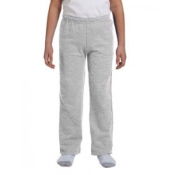 Youth Open-Bottom Sweatpants - Sport Grey