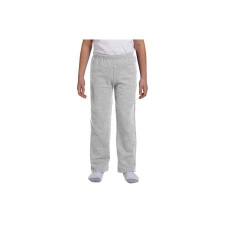 Youth Open-Bottom Sweatpants - Sport Grey