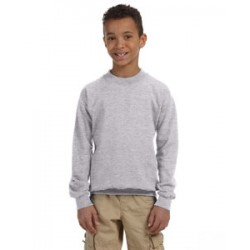 Youth Fleece Crew - Sport Grey