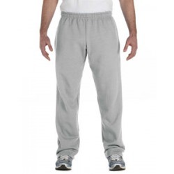 Adult Open-Bottom Sweatpants - Sport Grey